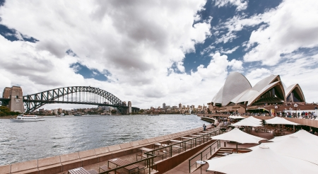 View of Sydney Harbour Bridge, Sydney, Australia