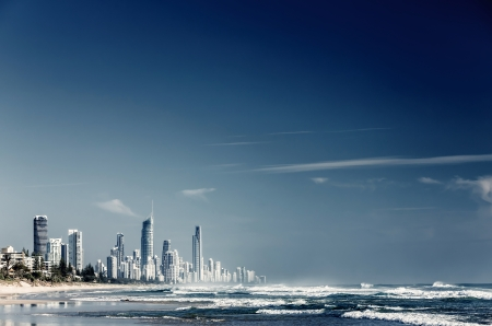 waterways: City Gold Coast, Queensland, Australia. The city is well-known as luxury resort in Australia