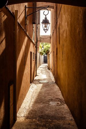 tropez: View of street in Saint Tropez, French Riviera Stock Photo