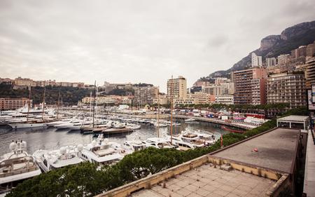 Marina of Monte Carlo in Monaco, French Riviera photo