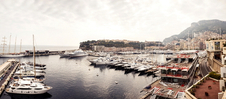 Marina of Monte Carlo in Monaco, French Riviera photo