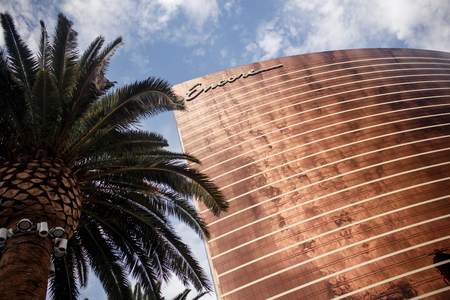 strip club: LAS VEGAS - JULY 30: Wynn and Encore Las Vegas Resort and Country Club located on the Las Vegas Strip on July 30, 2012 in Las Vegas. Wynn opened on April 28, 2005 and cost US$2.7 billion to build
