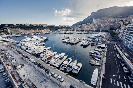 Monaco yachts photo