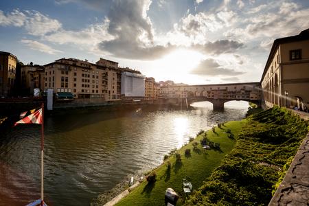 ponte vecchio: Ponte Vecchio Bridge, Florence Stock Photo