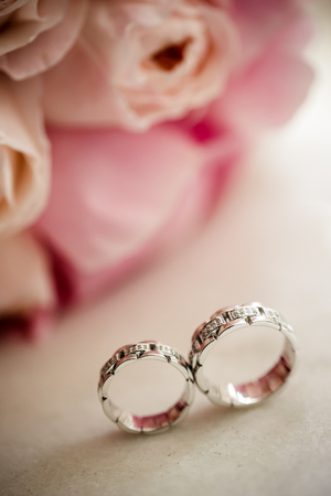 Roses and rings photo