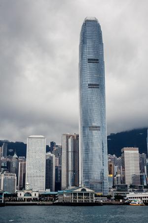 Yacht Hong Kong city buildings