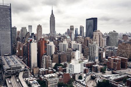 Bâtiments de la ville de New York Banque d'images - 37633548