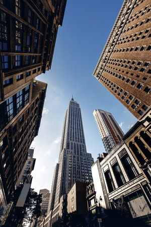Empire state building 版權商用圖片