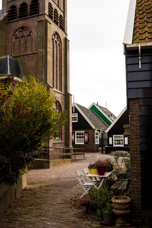 marken: Marken island, Netherlands Stock Photo