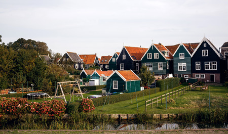 marken: Marken island, Netherlands Stock Photo