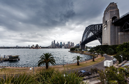 port jackson: View of Sydney Harbour Editorial
