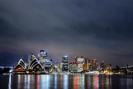 port jackson: View of Sydney Harbour Editorial