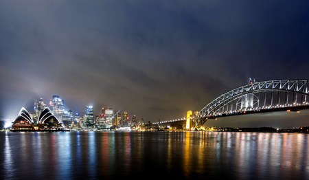 View of Sydney Harbour Editorial