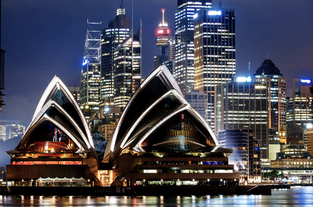 View of Sydney Harbour Editoriali