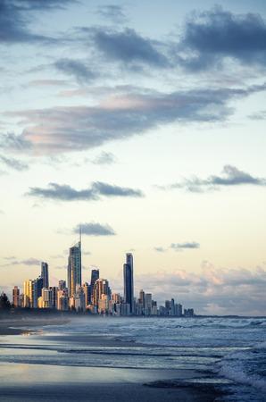 australia beach: Gold Coast, Queensland, Australia
