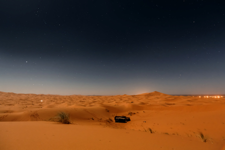 coverings: Bedouin nomad tent camp in Merzouga dunes, Morocco