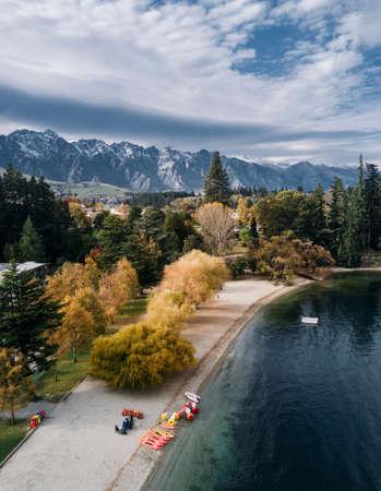 Queenstown in autumn, New Zealand