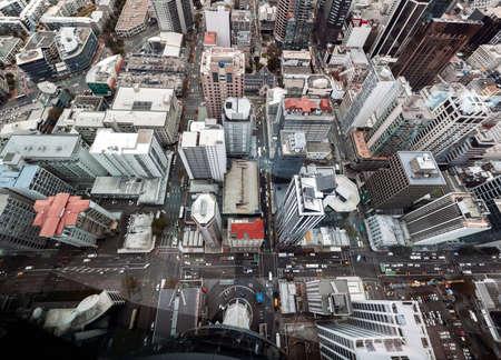 View of Auckland, New Zealand Standard-Bild