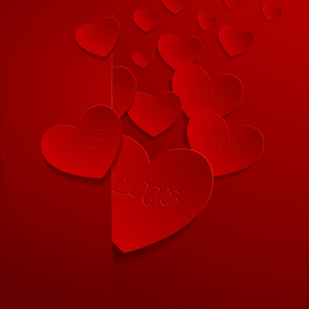 valentine backgrond Stock Vector - 25244816