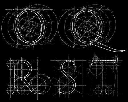 orthographic symbol: set of dekorative symbol , vector illustration, clip art