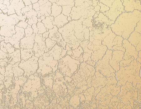 arid: the old cracked grunge background, illustration clip-art Illustration
