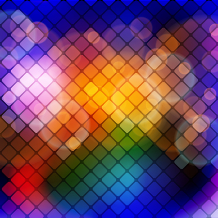 abstract mosaic background, vector illustration, clip art