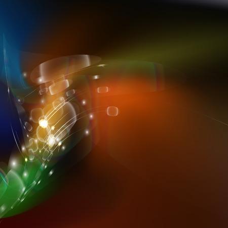 luminescent: abstract luminescent  background, illustration clip-art