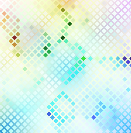 abstract color mosaic background,  clip art