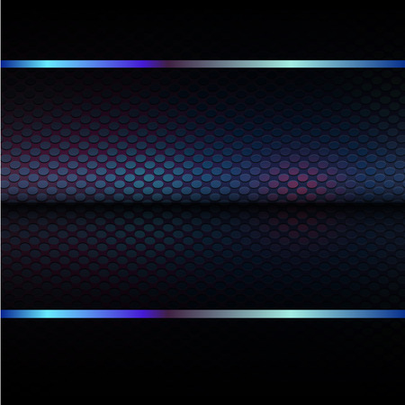 lighted: abstract mesh background