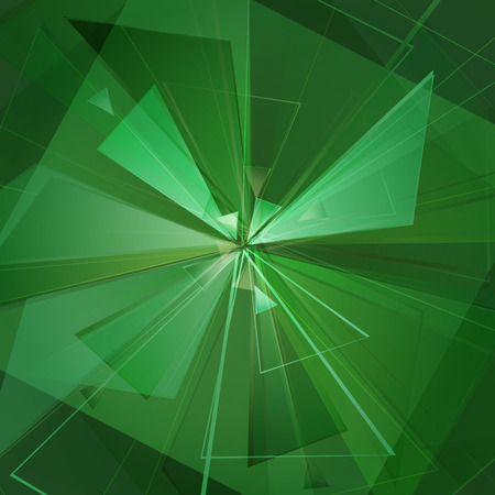 collapsing abstract glass background, vector illustration clip-art