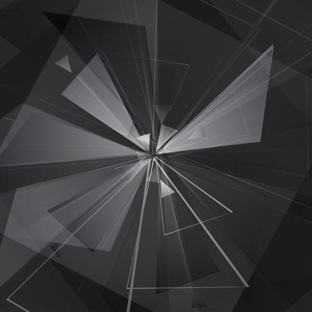 detonating: collapsing abstract glass background, vector illustration clip-art