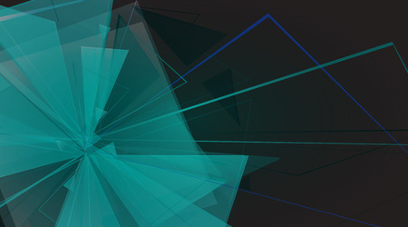 collapsing: collapsing abstract glass background, vector illustration clip-art