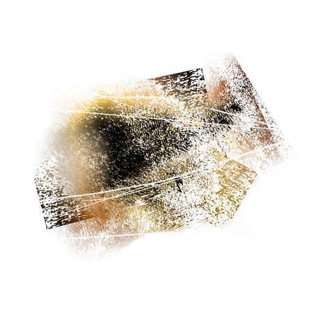 splattered: splattered white grungy background, vector illustration Illustration