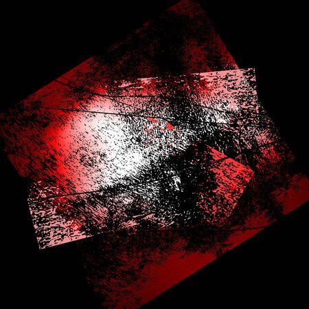stroking: splattered black grungy background, vector illustration Illustration