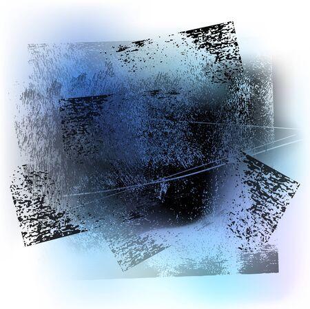 splattered: splattered grungy background, vector illustration