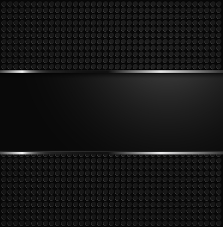 Abstract perforated background, vector illustration clip-art