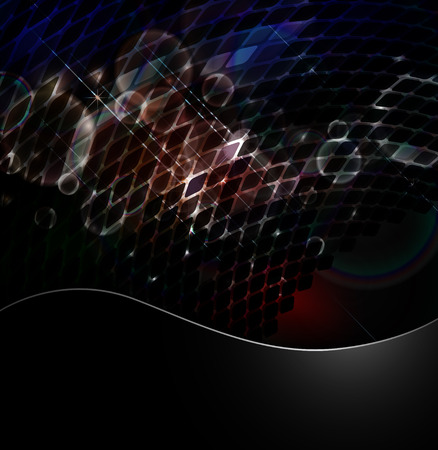 Abstract luminescent with effect clip art