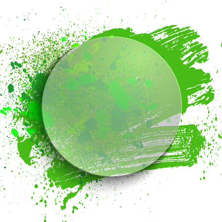 abstract color spray background, vector illustration clip-art