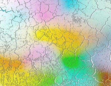 colored plaster background, vector illustration Illustration
