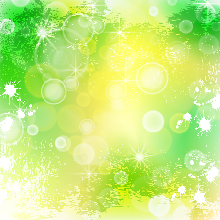 Bright summer background, illustration clip-art Ilustração