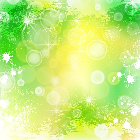 Bright summer background, illustration clip-art Illustration