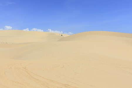 dunes: White sand dunes