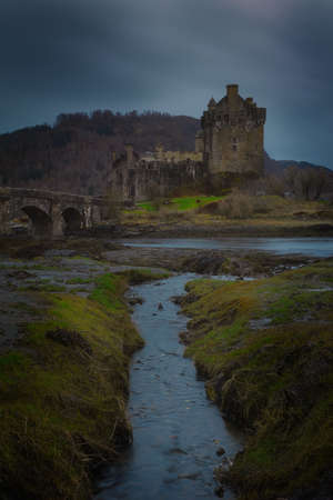 Historic castle and famous for its proximity to the Iska de Skye. Cold environment