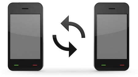sincronizacion: sincronizaci�n de los tel�fonos