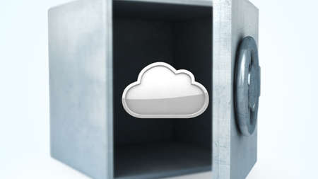 safe cloud Stock Photo - 12113056