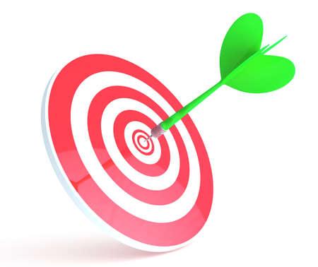 target pic 免版税图像
