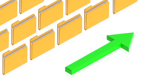 3D image of a simple object for use in presentations, manuals, design, etc