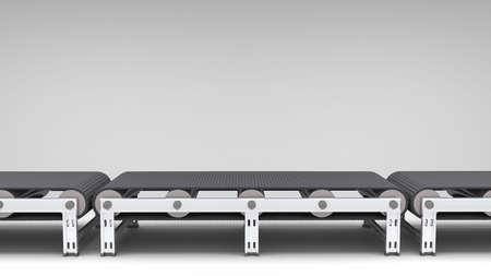 transportador: cinta transportadora vac�a para su uso en presentaciones, manuales, dise�o, etc