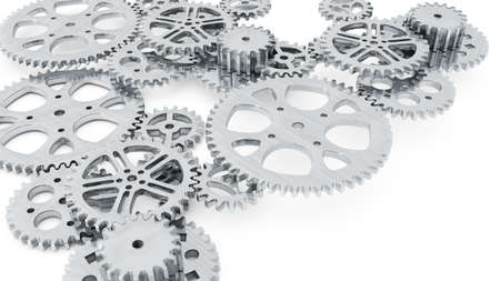 group of gears for use in presentations, manuals, design, etc  photo