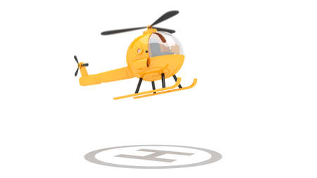 toy helicopter for use in presentations, manuals, design, etc  photo